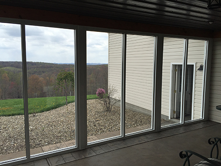 New construction and replacement windows at Talbott Glass in Elkins, WV