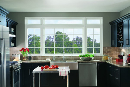 Simonton Casement windows at Talbott Glass in Elkins, WV