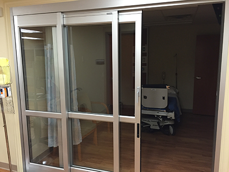 Commercial doors by YKK and Kawneer at Talbott Glass in Elkins, WV